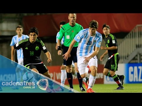 Mundial Sub 17: México debuta con triunfo de 2-0 contra Argentina