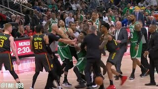 Marcus Smart gets into it with DeAndre Bembry, goes after him and gets ejected