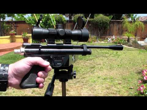 Crosman 2240 Custom Shop Chrony Test