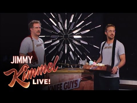 """Knife Guys"" Will Ferrell and Ryan Gosling"