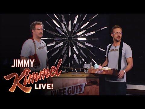 """Knife Guys"" Will Ferrell and Ryan Gosling"