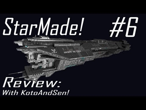 StarMade Review: INSANE SHIP! - UNSC Spirit of Fire