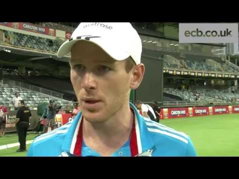 'It was a good day for England' - captain Eoin Morgan on three-wicket Tri-Series win v India