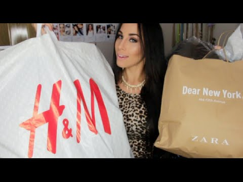 HUGE Summer To Fall Fashion Haul Part 2 ♡ Zara. H&m. JustFab. DailyLook