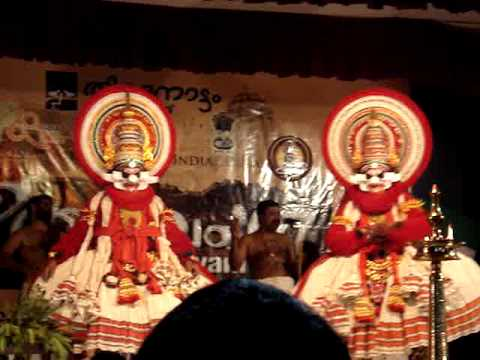 Bali Vadham Kathakali video
