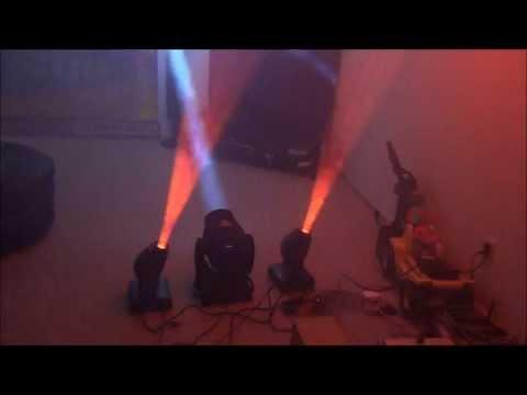 Mobile DJ Equipment Update- Chauvet Intimidator 250 & 350
