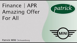Awesome Financing for All | Best Price on Cars | Schaumburg IL | Patrick MINI