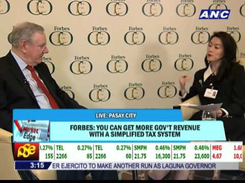 Steve Forbes sees more billionaires emerging from Philippines