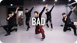 Download Lagu Bad - Christopher / Junsun Yoo Choreography Gratis STAFABAND