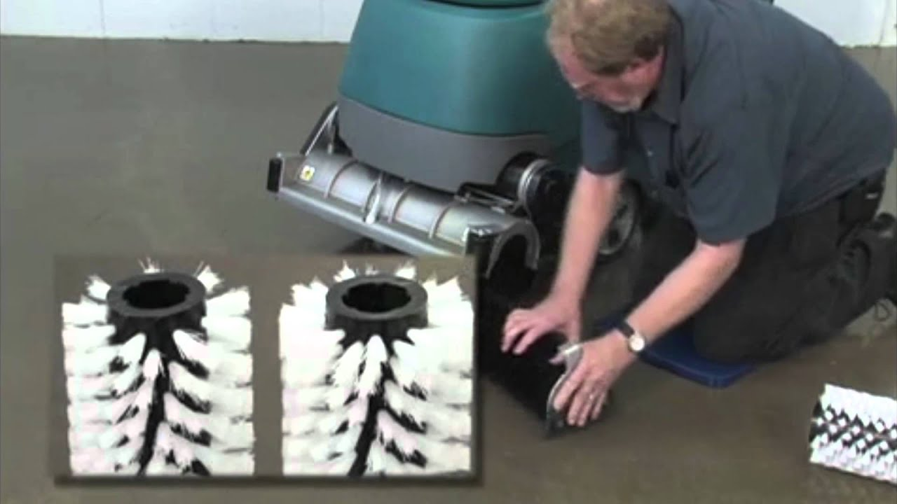 Tennant t5 floor scrubber operator training video youtube for Floor operator