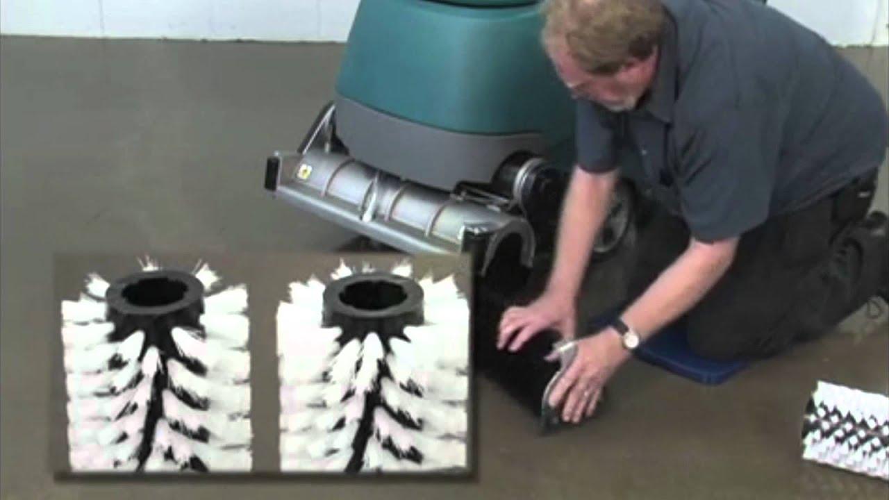 Floor Operator Of Tennant T5 Floor Scrubber Operator Training Video Youtube