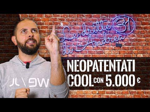 Neopatentati 3 auto cool a 5000 euro  Le dritte di Andrea