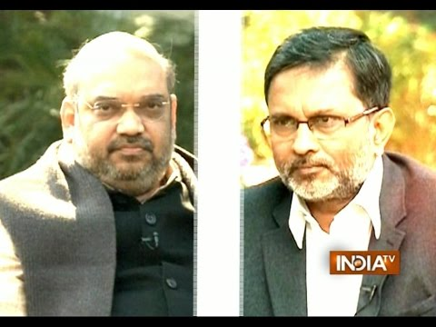 India TV Exclusive: Ajit Anjum interviews BJP president Amit Shah on Delhi Assembly Election