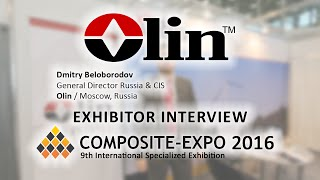 Dmitry Beloborodov, Olin / Moscow, Russia - about Composite-Expo 2016