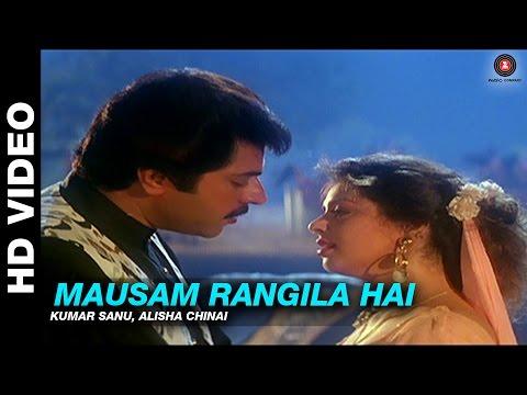 Mausam Rangila Hai - Dhartiputra | Kumar Sanu, Alisha Chinai | Mammootty & Jaya Prada