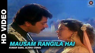 Mausam Rangila Hai - Dhartiputra   Kumar Sanu, Alisha Chinai   Mammootty & Jaya Prada
