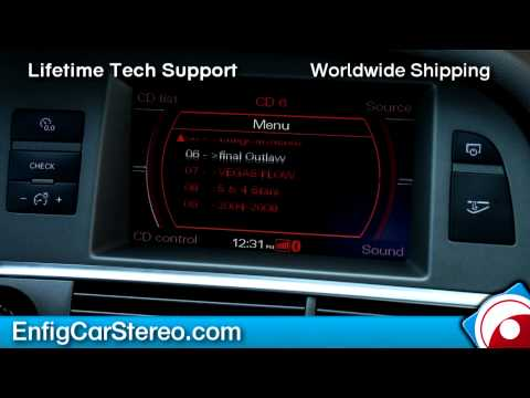 How-To Use iPod Bluetooth iPod AUX USB adapter Audi A6 05-09 Dension GW52MO1