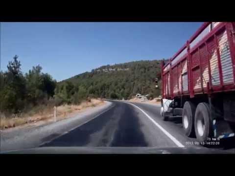 Akseki - Seydişehir Yolu Full HD