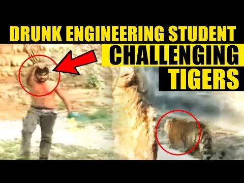 Can you believe it? A deliberate encounter with a tiger by a young engineering student in India. And call it his good luck or sheer chance that he escapes. T...