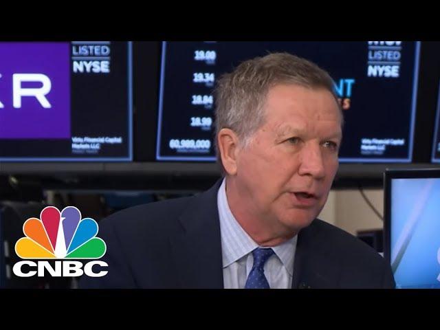Gov. John Kasich Slams President Donald Trump's Steel And Aluminum Tariffs   CNBC