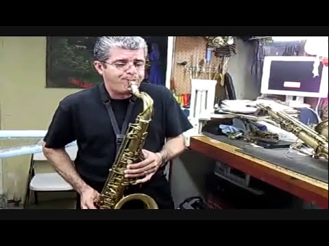LISTEN THE TENOR SELMER PARIS MARK VI - EL BUZO- FINAL VIDEO WITH THE RHINO LIGATURE.wmv