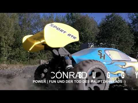 RC Buggy Bashing - Conrad Jubiläums Buggy 4x4