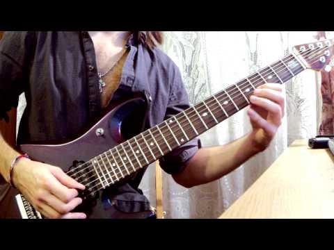 Вертушка #6. AC/DC - Thunderstruck (How to play intro solo. Как играть вступительное соло)