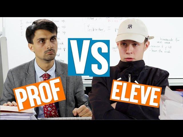 Prof VS Elève thumbnail