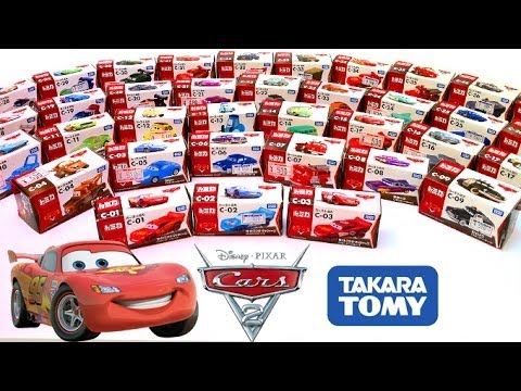 Cars 2 Diecast Complete Collection CARS TOON Toys Takara Tomy Disney カーズ・トミカ