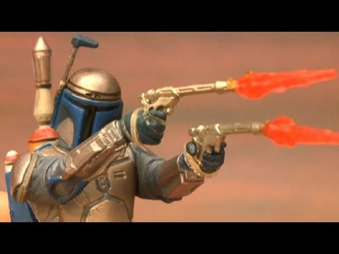 CGR Toys - STAR WARS Jango Fett figure review