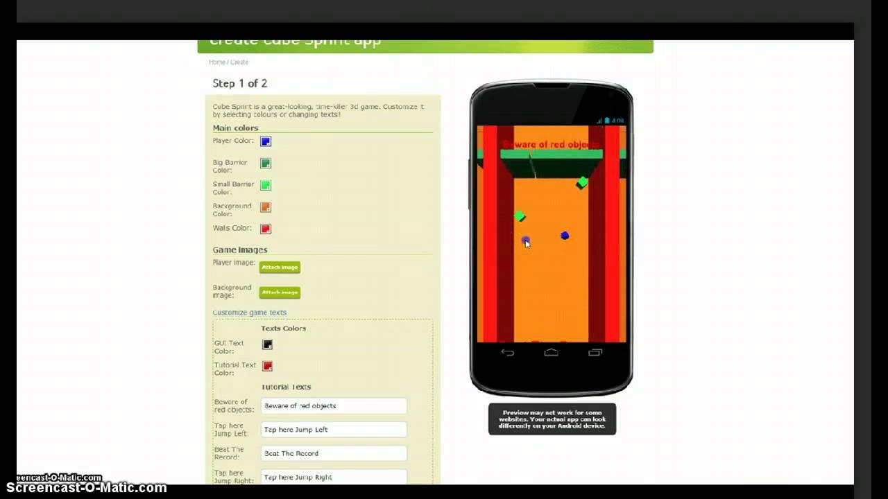 Cube Game App Make Cube Sprint Game App Easy