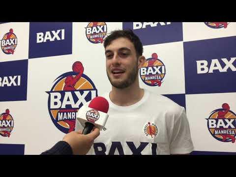 Declaracions Sergi Garcia, nou jugador del BAXI Manresa