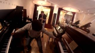 Steinway Gallery Piano Testing with Pianist Richard Johnson