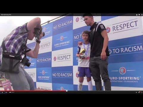Cz32-Międzynarodowy Turniej Wrocław Trophy-U9-10-13 07.15-Dekoracja-Gutek Król Strzelców Oraz MVP