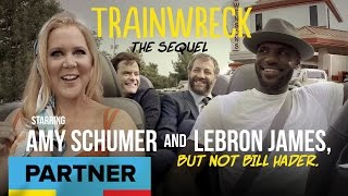 Trainwreck: The Sequel Starring Amy Schumer And LeBron James, But Not Bill Hader