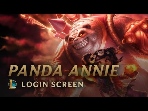 Panda Annie - Login Screen