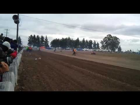 CAM. Certamen Argentino de motociclismo  .selva santiago del estero.125cc  terrible palo.