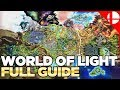 Lagu World of Light Character Locations - Smash Ultimate