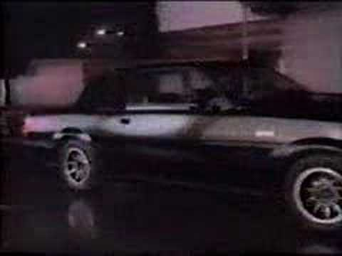 1985 Buick Grand National - Commercial