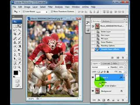 Add a dark edge or vignette to a photo with Photoshop Video