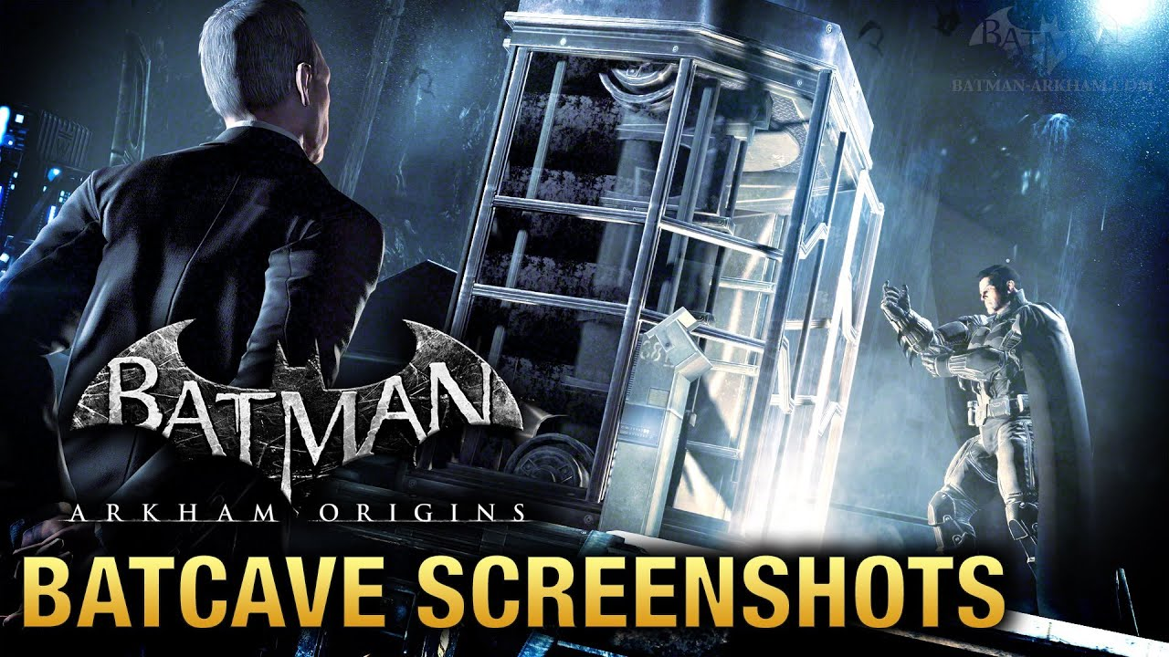 Arkham City Batcave Arkham Origins Batcave