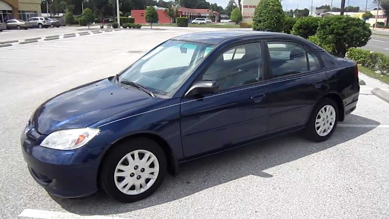 Sold 2004 Honda Civic Lx Manual 5 Speed Meticulous Motors Inc Florida For Sale Youtube