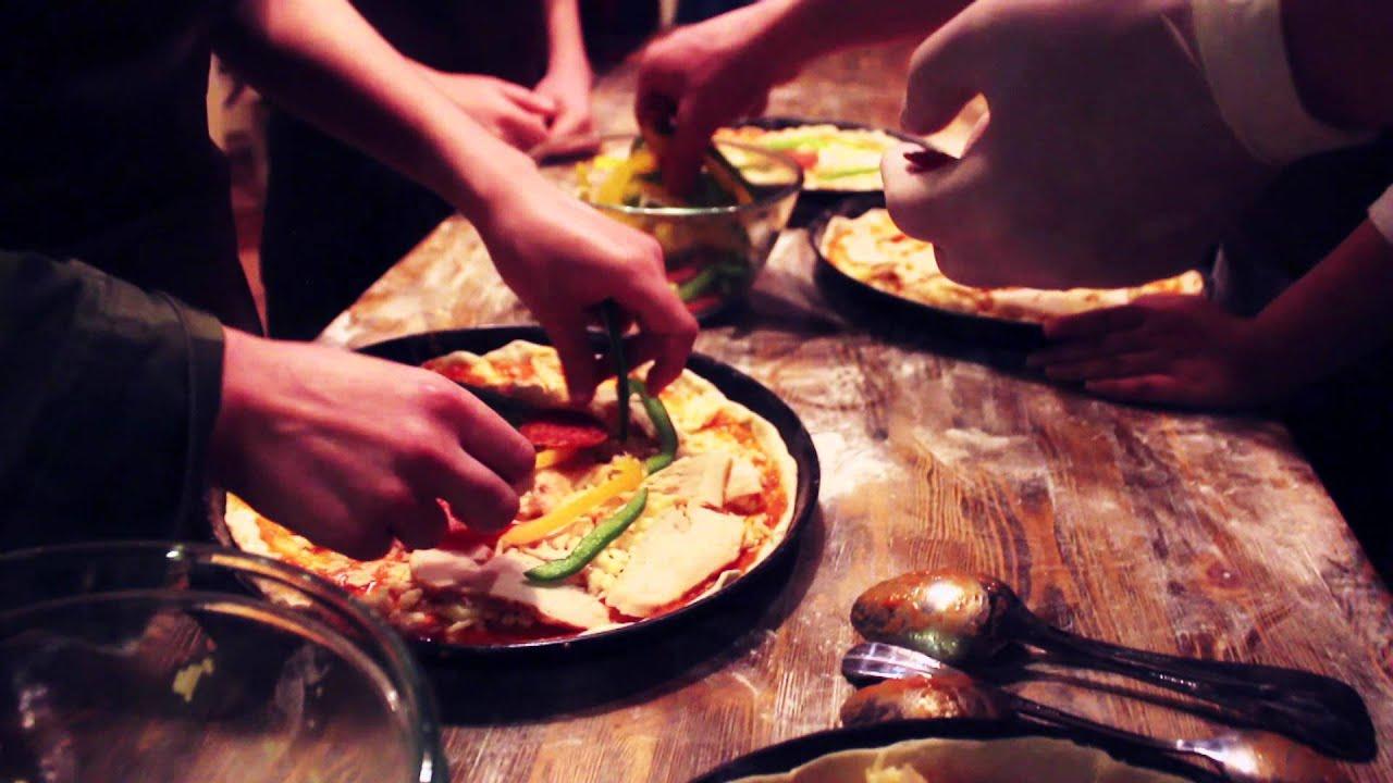 Мастер-класс для маленьких поваров. Готовим пиццу! - YouTube
