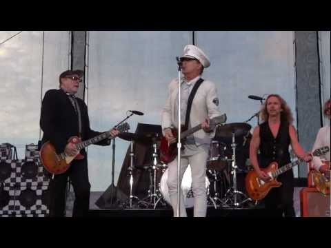 Cheap Trick with Tommy Shaw of Styx-Ain't That A Shame- Delaware State Fair July 22, 2012