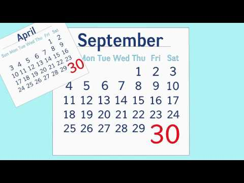 Days in the Months Song