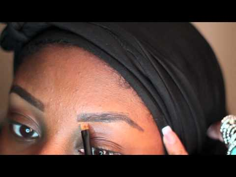 Updated Eyebrow Tutorial (using MUFE Brow Corrector).