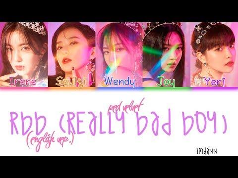 Red Velvet - RBB (Really Bad Boy) (English Ver.)  Sub. Español + Color Coded  (HAN/ROM/ESP)