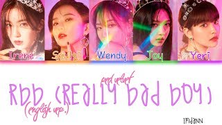 Red Velvet Rbb Really Bad Boy English Ver Sub Español Color Coded Han Rom Esp