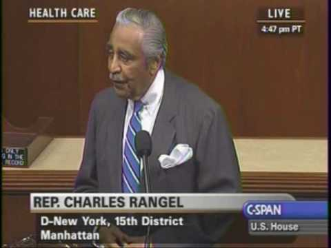 H.R. 4872, Health Care & Reconciliation Act of 2010: Rep. Charles Rangel