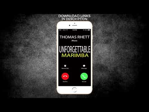 Latest iPhone Ringtone - Unforgettable Marimba Remix Ringtone - Thomas Rhett